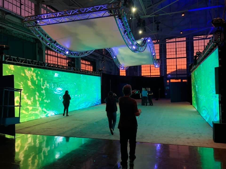 Producing Creative Events with LED Walls